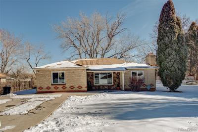 Golden, Lakewood, Arvada, Evergreen, Morrison Single Family Home Under Contract: 2420 Vance Street
