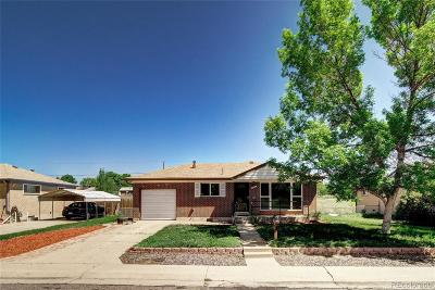Northglenn Single Family Home Active: 1481 East 105th Place