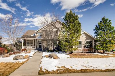 Castle Rock Single Family Home Active: 3618 Elk Run Drive