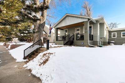 Denver Single Family Home Under Contract: 4574 Osceola Street