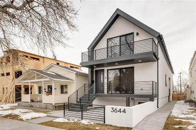 Condo/Townhouse Under Contract: 3644 Quivas Street #2