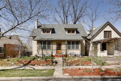 Denver Single Family Home Under Contract: 1575 South Grant Street