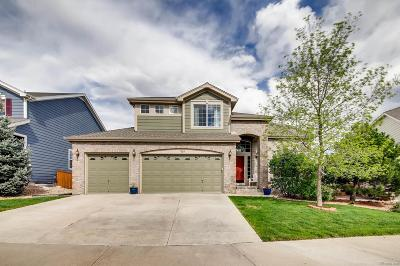 Castle Rock Single Family Home Under Contract: 7864 Solstice Way