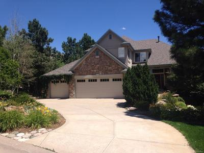 Castle Pines Single Family Home Under Contract: 7808 Glen Ridge Drive