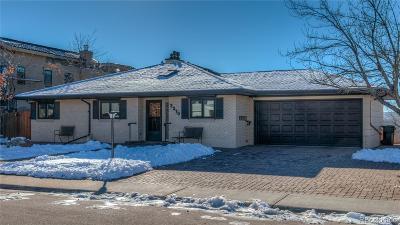 Boulder CO Single Family Home Active: $1,850,000