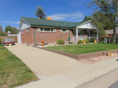 Northglenn Single Family Home Under Contract: 1405 Lucille Court