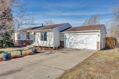 Castle Rock Single Family Home Under Contract: 967 Oakwood Drive