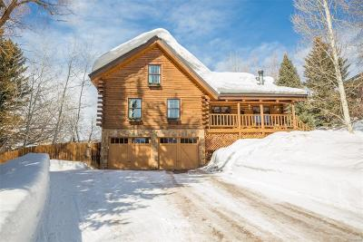 Steamboat Springs Single Family Home Active: 875 Pahwintah Street