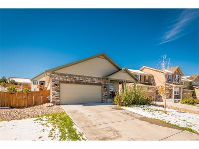 Castle Rock Single Family Home Active: 3469 Amber Sun Circle