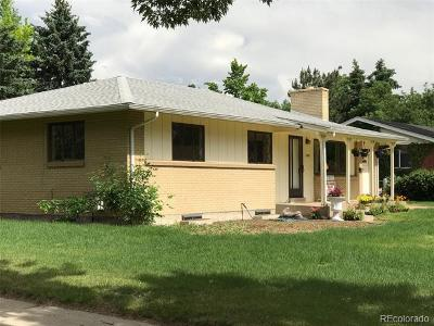 Golden Single Family Home Active: 2202 Yellowstone Street