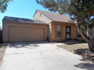 Aurora CO Single Family Home Active: $300,000