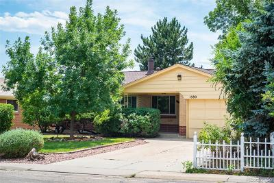 Broomfield Single Family Home Active: 1380 West 6th Avenue
