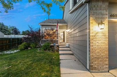 Castle Rock Single Family Home Active: 4618 East Bennington Avenue