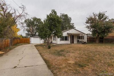 Denver Single Family Home Active: 4863 West Tennessee Avenue