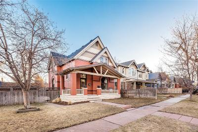 Denver Single Family Home Active: 3208 West Hayward Place