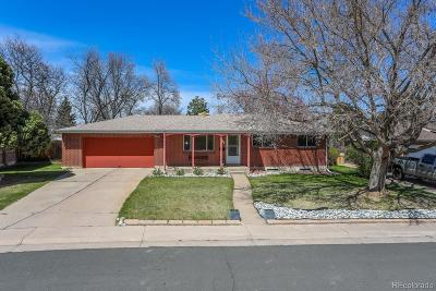 Denver Single Family Home Active: 3933 West Quigley Drive