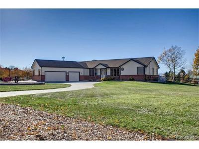 Parker Single Family Home Active: 5908 East Valley Hi Drive