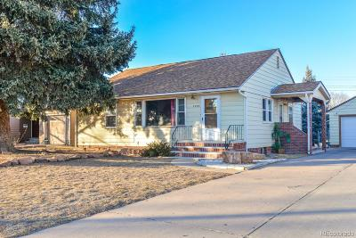 Greeley Single Family Home Active: 2229 11th Street