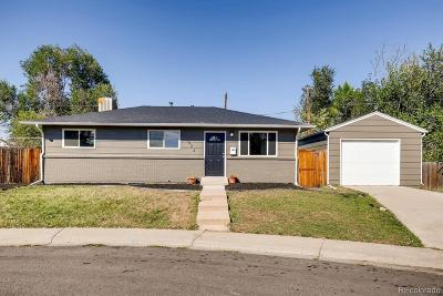 Denver Single Family Home Active: 1522 South Hooker Street