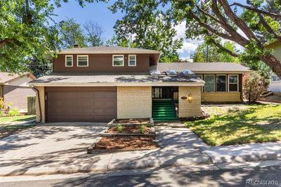 Denver Single Family Home Active: 3010 South Xeric Court