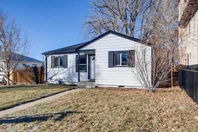 Denver Single Family Home Active: 1605 South Elizabeth Street