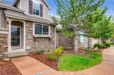 Castle Pines Condo/Townhouse Sold: 456 Clarendon Loop