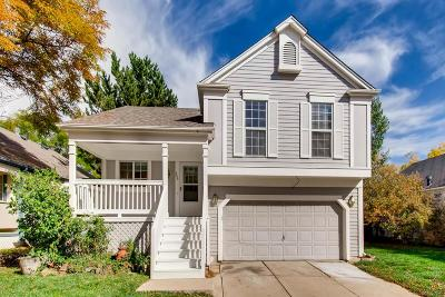 Broomfield Single Family Home Under Contract: 269 Greenway Circle