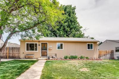Westminster Single Family Home Under Contract: 7810 Xavier Street