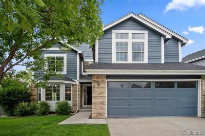 Highlands Ranch Single Family Home Active: 9640 Hemlock Court