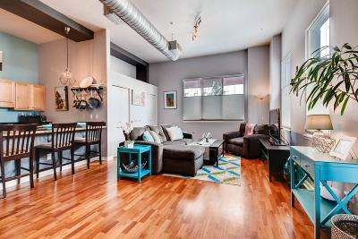 Denver Condo/Townhouse Active: 2501 15th Street #1D