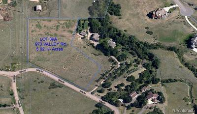 Douglas County Residential Lots & Land Active: 973 Valley Road