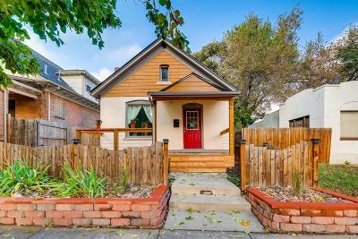 Denver Single Family Home Under Contract: 3743 Tejon Street