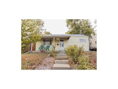 Denver Single Family Home Active: 1331 South Quivas Street