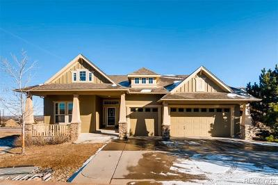 Castle Rock Single Family Home Active: 2086 Wild Star Way