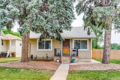 Denver Single Family Home Active: 300 Julian Street