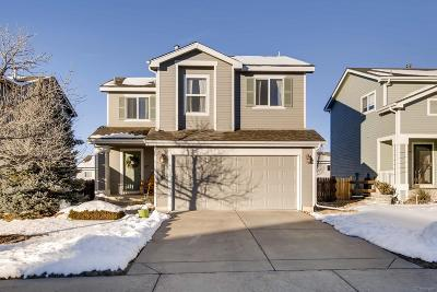 Littleton Single Family Home Under Contract: 9591 Marmot Ridge Circle