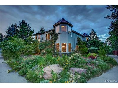 Boulder Single Family Home Active: 4818 6th Street