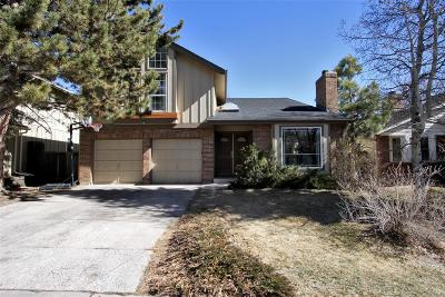 Littleton Single Family Home Under Contract: 11405 San Joaquin Ridge