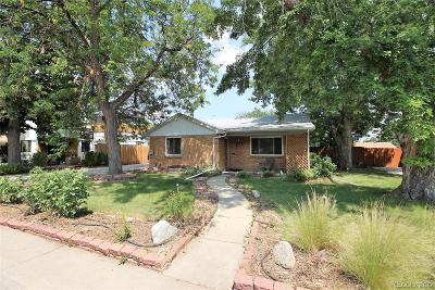 Arvada Single Family Home Active: 5440 Hoyt Drive