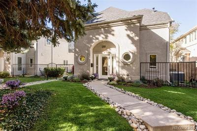 Cherry Creek, Cherry Creek East, Cherry Creek North, Cherry Creek South, Clayton Lane Condo/Townhouse Active: 251 South Garfield Street #F