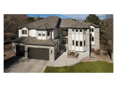 Littleton Single Family Home Under Contract: 5 Mountain Cedar Lane