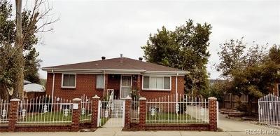 Commerce City Single Family Home Active: 5930 Grape Street