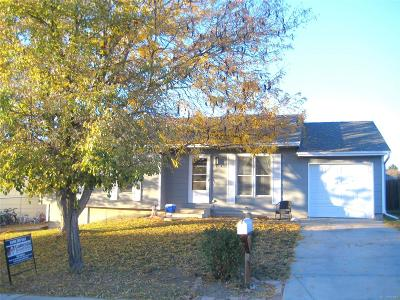Aurora Single Family Home Under Contract: 16637 East Arkansas Drive