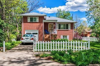 Denver Single Family Home Active: 3904 Zenobia Street