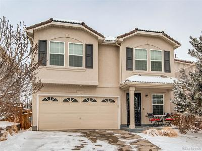 Castle Rock Single Family Home Under Contract: 2283 Coach House Loop