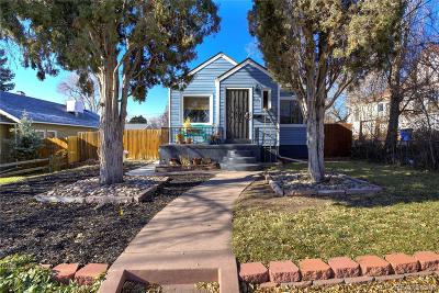 Wheat Ridge Single Family Home Under Contract: 2935 Chase Street