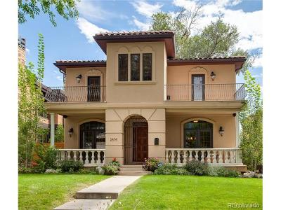 Single Family Home Under Contract: 2474 South Josephine Street