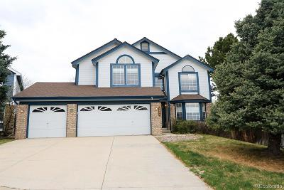 Highlands Ranch Single Family Home Under Contract: 9845 Buckingham Court