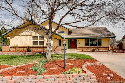 Centennial Single Family Home Active: 6343 South Monaco Court