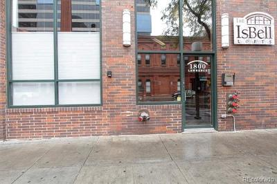 Denver Condo/Townhouse Active: 1800 Lawrence Street #103